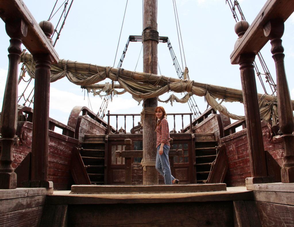Лолита Быстрова на пиратском корабле