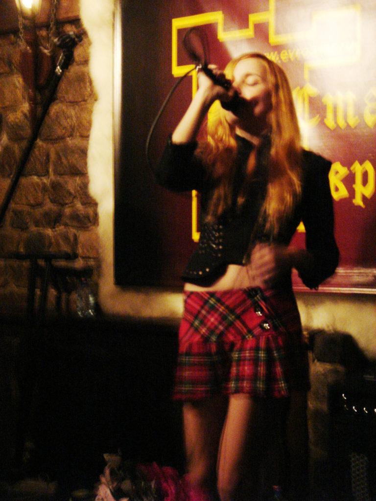 Лолита Быстрова на последнем концерте группы Лондон