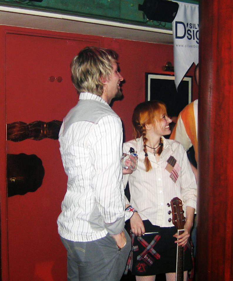 Лолита Быстрова и Григорий Кулагин на вечеринке MTV