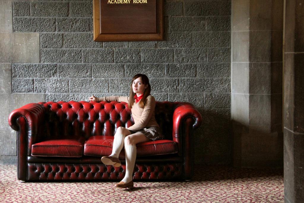 Лолита Быстрова в шотландии в школе-интернате