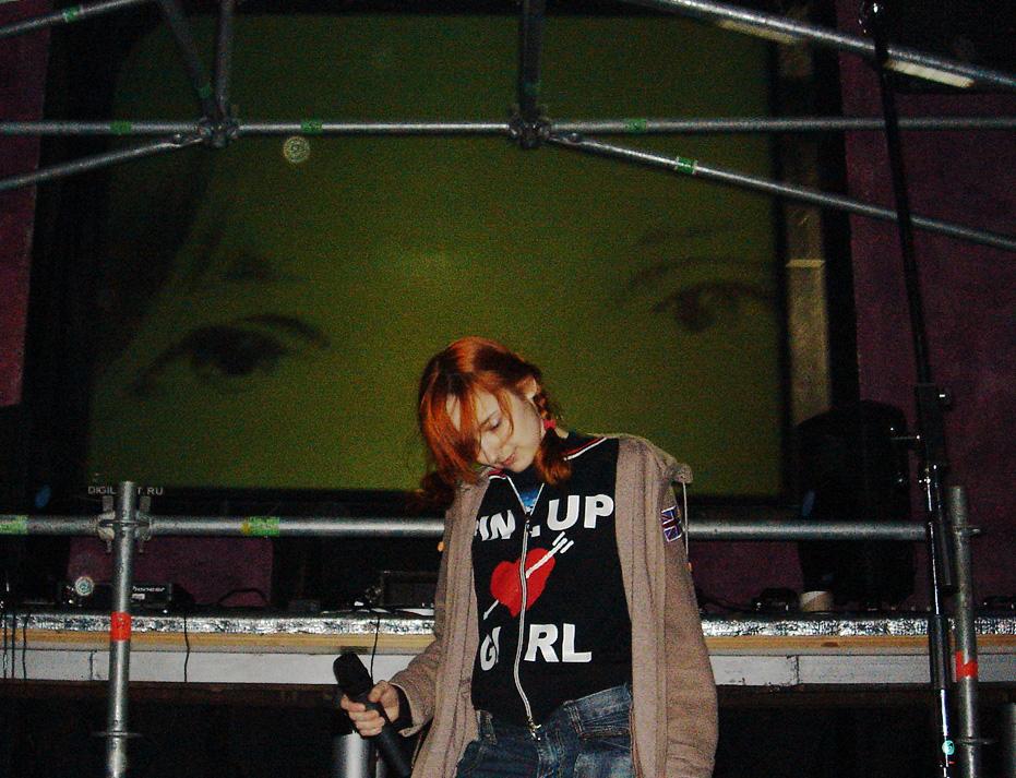 Лолита Быстрова на саундчеке в Гауди арена