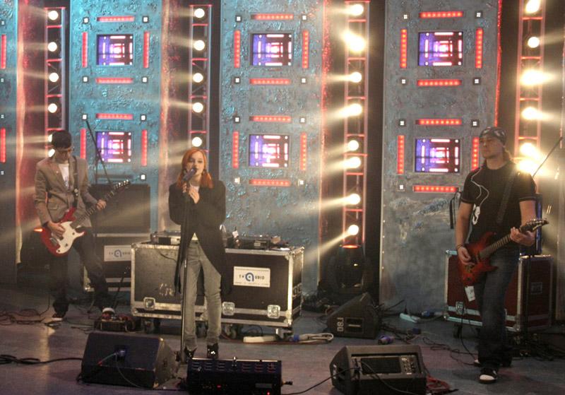 Лолита Быстрова на съемках реалити-шоу на MTV