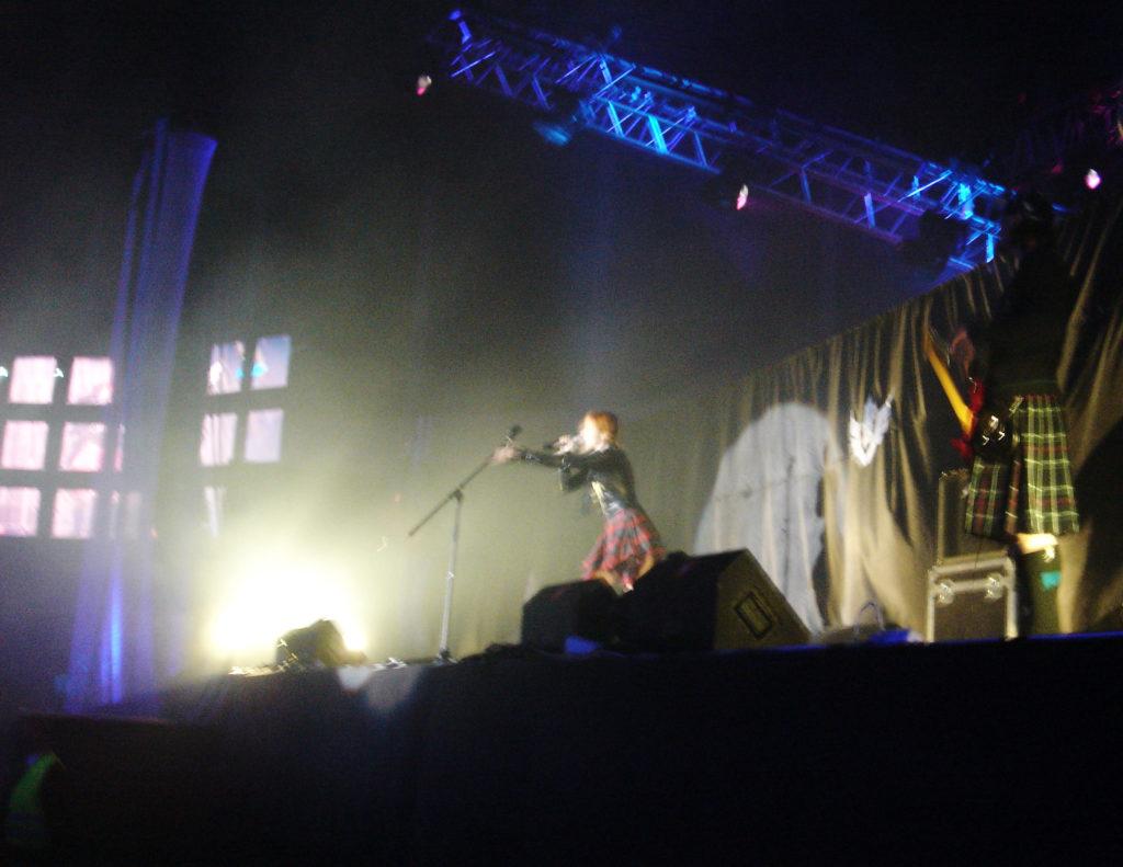 Лолита Быстрова на фестивале Вспышка
